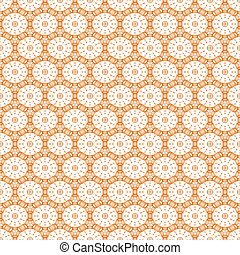 Seamless pattern for background of round