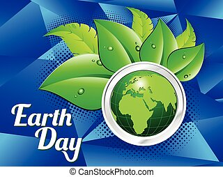 abstract colorful earth day background.eps