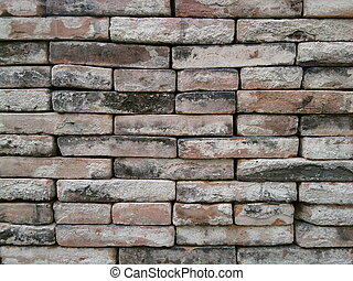 red brick wall - red brick dry wall no concrete