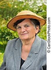Senior woman - portrait