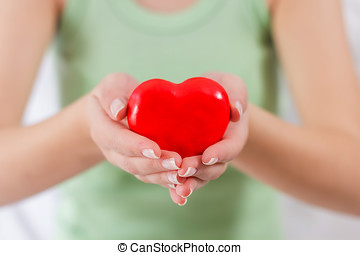Health Care Love Support Red Heart