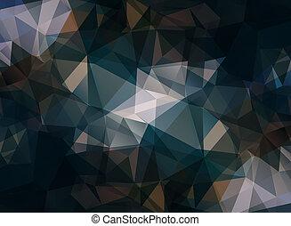 triangular background
