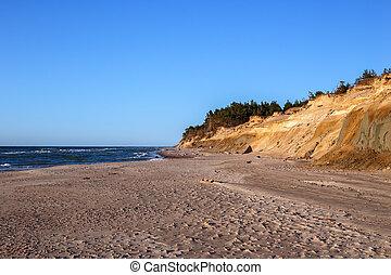 shore of the Baltic Sea