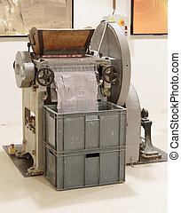 Machine for the manufacture of soap