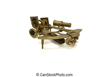 sextant isolated on white background