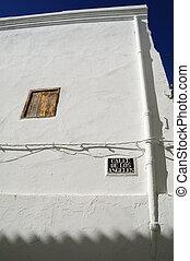 Spanish architecture in Chulilla - Valencia Spain - Spanish...