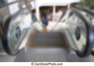 blur Escalator, defocus