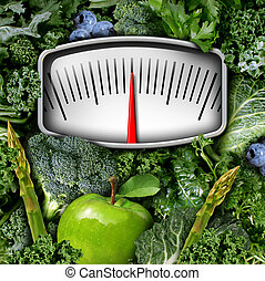 Fruits and Vegetables Scale - Fruits and vegetables weight...