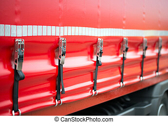 Safety Turnbuckle on a truck