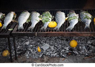 mediterranean fish cooking