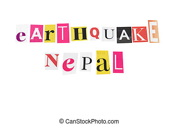 earthquake nepal written letters daily