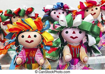 Colorful Lupita Dolls Mexico City Mexico - Colorful Lupita...