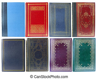 set of old book covers - Big set of old book covers front...