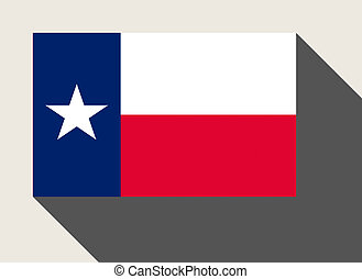 American State of Texas flag
