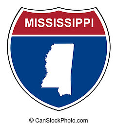 Mississippi interstate highway shield