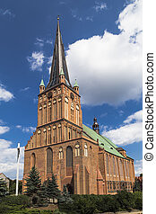 Cathedral Basilica of St James the Apostle in Szczecin - The...