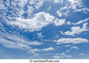 Sky and clound nature background