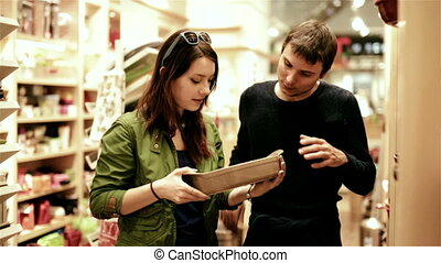 sale, consumerism and people concept shopping - happy young...