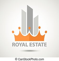 Real estate icon business concept