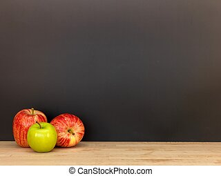 Back To School - A still life conceptual image of going back...