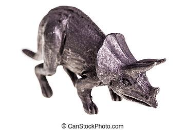Triceratops, estatuilla,