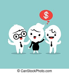 refer a friend referral concept illustration - refer a...