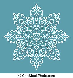 Round Arabesque Pattern