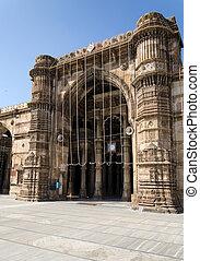 Jama masjid mosque in Ahmedabad - Jama masjid mosque,...