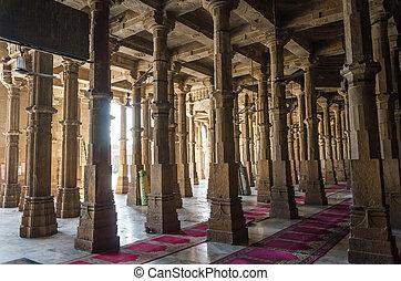 Jama masjid mosque in Ahmedabad, Gujarat, India