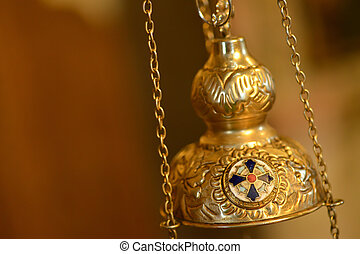 Isolated orthodox censer