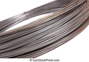 roll of metal wire