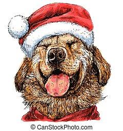 Labrador Retriever - Smile Yellow Labrador Retriever with...