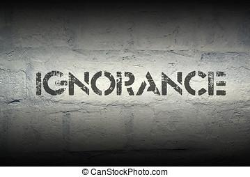 ignorancia,