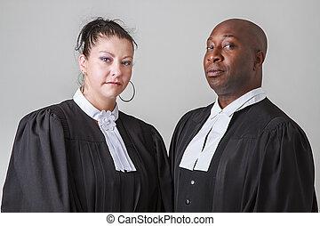 Lawyer couple
