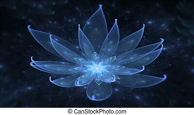 Blue lotus, water lily, enlightenme