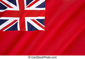 British Red Ensign - The British Red Ensign - flown by...