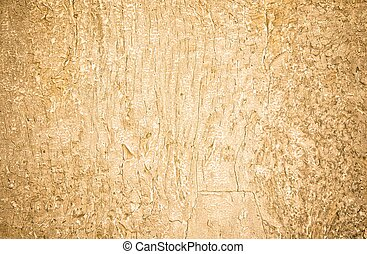 closeup of old wood planks texture background, with gold...