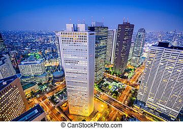 Shinjuku Cityscape - Tokyo, Japan shinjuku cityscape