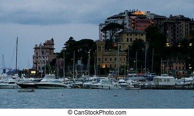 Rapallo harbour