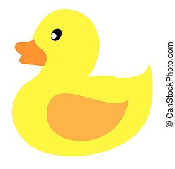 rubber duck - vector rubber duck toy
