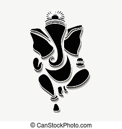 Ganesha or Ganesh - Ganesha or Ganesh Vector Eps10