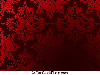 gothic wallpaper red - Bright red gothic wallpaper with...