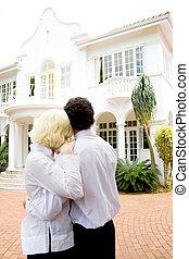 couple dream home