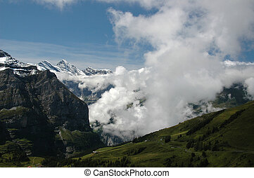 Eiger region - region at the Eiger