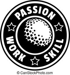 Golf Passion Work Skill Badge