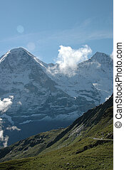 Eiger peak - Eiger valley