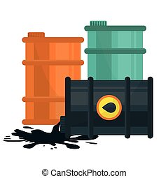 Garage design. - Garage design over white background, vector...