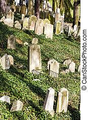 ebreo, cimitero, Trebic, ceco, repubblica,