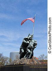 Marine Corps War Memorial in DC