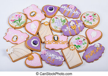 Vintage Gingerbread cookies - Vintage Gingerbread Fancy...